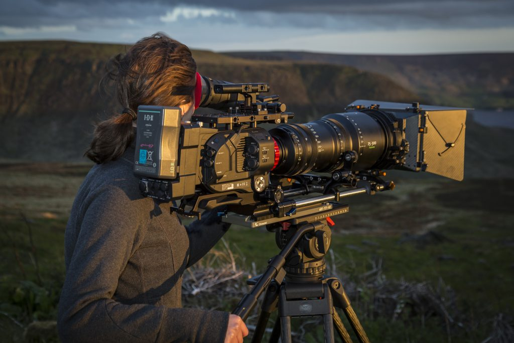 Documentary Cinematographer and shooting producer/director Leanne Gater